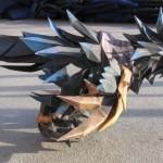 Papierowa figurka epickiego mounta z World of Warcraft