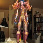 Papierowa figurka postaci z World of Warcraft