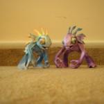 Papierowe figurki potworów z World of Warcraft