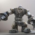 Papierowa figurka potwora (NPC) z World of Warcraft