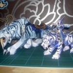 Papierowe figurki zwierząt z World of Warcraft