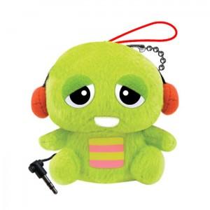 Pluszowy głośnik - zielony potworek