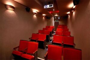 Mobilne kino - wnętrze
