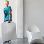 Składane krzesełko też może być sexy