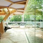 Treehugger - niezwykły pawilon