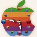 Zegar apple