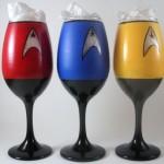 Kieliszki do wina ze Star Treka