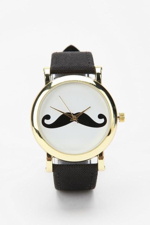 Zegarek z wąsem